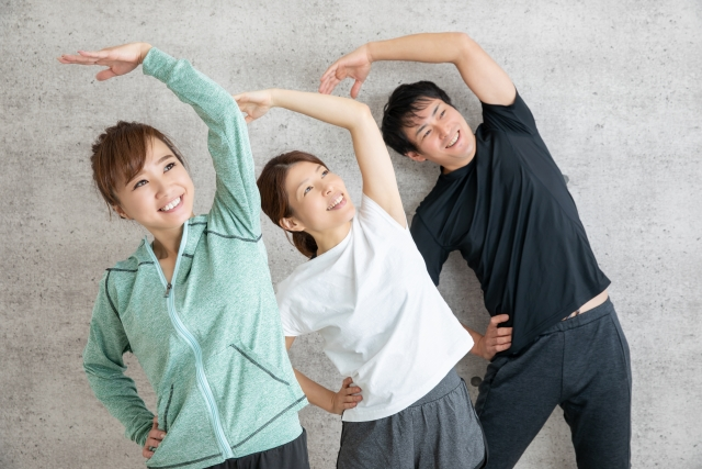たった3分の運動で健康になろう!